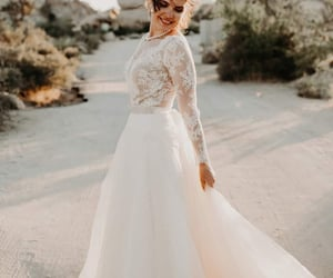 etsy, lace crop top, and white tulle skirt image