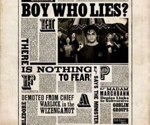 harry potter, aesthetic, and the boy who lies image