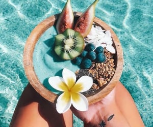 summer, fruit, and food image