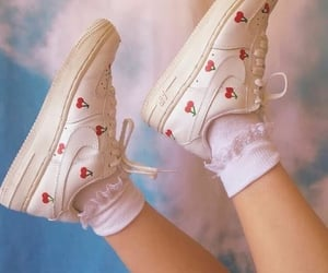 shoes, cherry, and aesthetic image