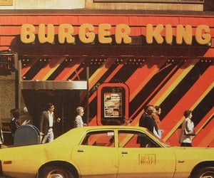 vintage, burger king, and 70s image