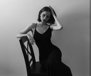 beauty, french, and noir image