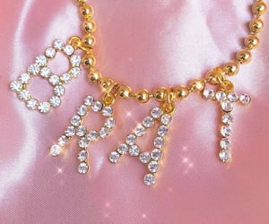 bling, brat, and letters image