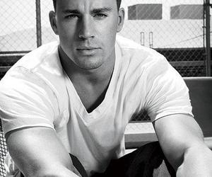 black & white, Hot, and handsome image