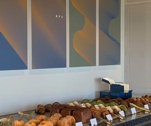 bread, korea, and cafe image