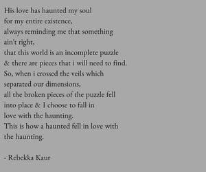 haunted, november, and poems image