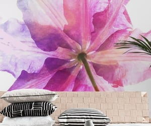 floral, livingroom, and watercolor image