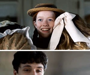 anne shirley, gilbert blythe, and lucas jade zumann image