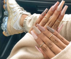 nails, shoes, and Nude image