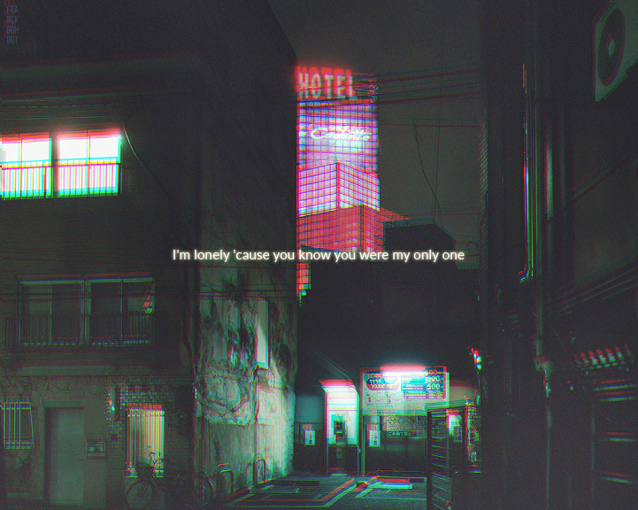 aesthetic, alone, and city image