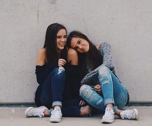 friendship, girls, and best friends image