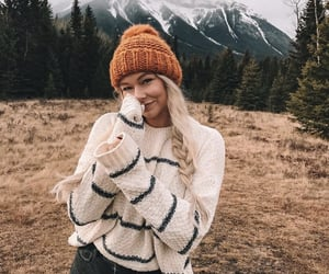 autumn, beanie, and beauty image