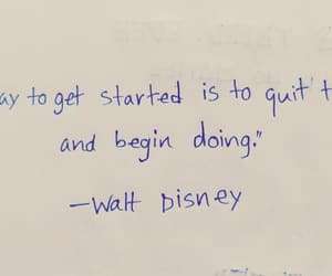 walt disney, stay positive, and quote image