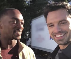Marvel, sebastian stan, and anthony mackie image