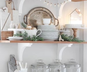 christmas, interior, and kitchen image