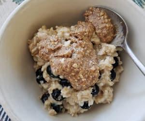 blueberry, breakfast, and brekkie image