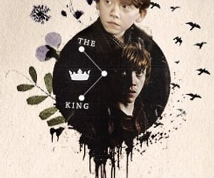 Collage, ron weasly, and harry potter image