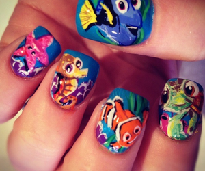 nails, nemo, and finding nemo image