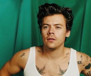 Harry Styles, lights up, and one direction image