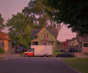 aesthetic, house, and vintage image