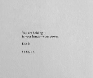 quote, inspiration, and power image