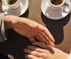 coffee, couple, and love image