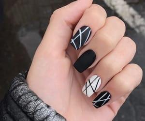 dark, inspiration, and nails image