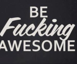text and be fucking awesome image