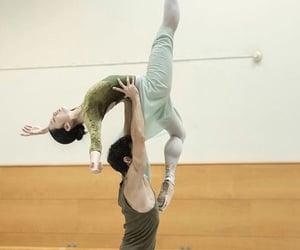 ballerina, dance, and dancer image