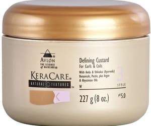 hair care products and curl defining custard image