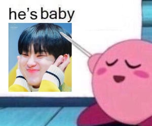 edit, kirby, and meme image