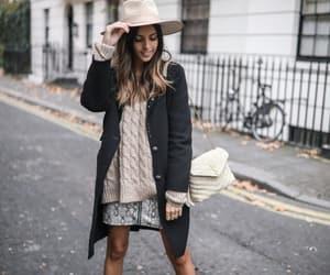 black coat, blogger, and dr martens image