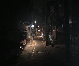 aesthetic, dark, and night image