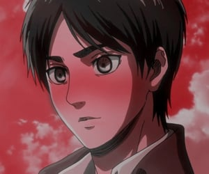 snk, icon blush, and eren jaeger image