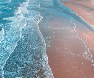 beach, wallpaper, and sea image