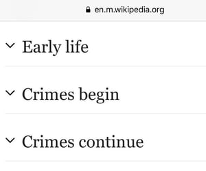 crimes, funny, and wikipedia image
