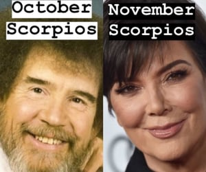 astrology, bob ross, and funny image