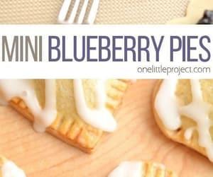 blueberry, comida, and yummy image