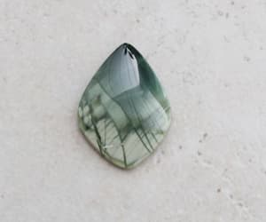 etsy, jewelry making, and green stone image