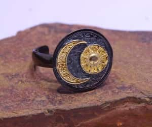 etsy, signet ring, and gift for her image