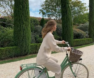 bicycle, green, and pretty image