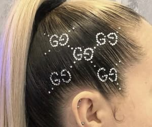 gg, hair, and hair style image