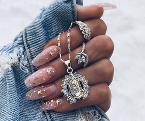 nails, accessories, and stars image