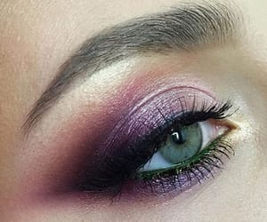 eye, fit, and make up image