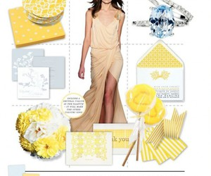 theme, wedding, and yellow image