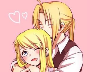 anime girl, anime couple, and edwin image