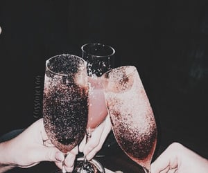 aesthetic, champagne, and party image
