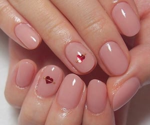 nails, aesthetic, and pink image