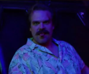 bloopers, david harbour, and stranger things cast image