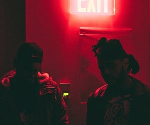the weeknd, red, and aesthetic image
